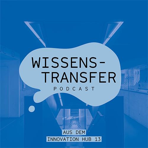 Das Cover des Wissenstransfer Podcasts